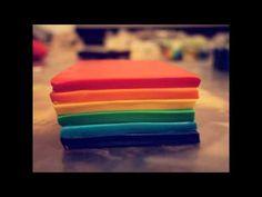 Millefiori Cane Tutorial · Rainbow Flower - YouTube