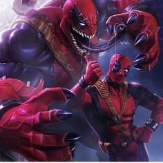 "Me vs my appetitite around chocolate, carbs, fatty foods... lol ""VenomPool"""