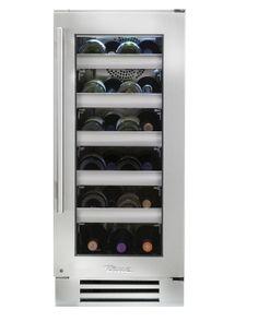 """True 15"""" Wine Cabinet- Stainless Glass Door"""