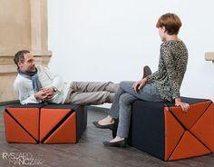 + Design de produto :     Um pufe modular, desenvolvido pelo designer Ryszard Manczak.