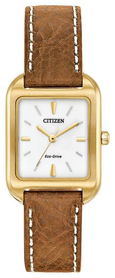 Brand New Citizen  ECO-DRIVE SILHOUETTE  EM0492-02A #CitizenEcoDrive #DressFormal