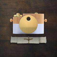 Gold & Cotton Pixie - Wooden Toy Camera PRE-ORDER – Beau Monde Babe