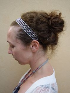 Beaded Headband.