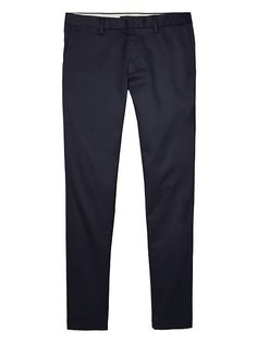 Banana Republic Mens Fulton Skinny Rapid Movement Chino