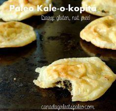 Paleo kale-a-kopita - use either sweet potato or tapioca flour?