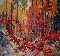 Autumn's Garland, 1916  - Tom Thomson (Canadian, 1877 – 1917)