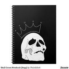 #Skull #Crown #Notebook #notes #notetaking