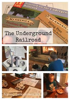 Interest Led Learning: The Underground Railroad - Home - Homegrown Learners