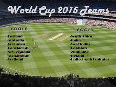 Teams of World Cup 2015