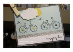 Stampin Up Life's Adventures card from the hostess stamp set #stampinup