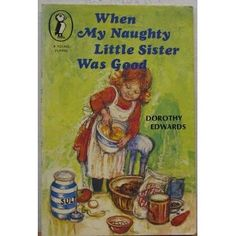 """Not a picture book but another gem from my childhood.  My favourite of the My Naughty Little Sister adventures was Bad Harry's Party where she arrived at the door and said """"Please and thank you and can I have some cake!"""""""
