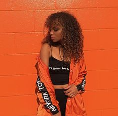 orange outfit ideas inspiration inspo looks street style Fancy Dress Outfits, Girl Outfits, Cute Outfits, New Fashion Clothes, Fashion Dresses, Fashion Fashion, Outfit Online, Looks Street Style, Online Shopping Clothes