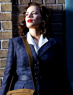 Agent Carter: my fashion spirit animal this A/W   #marvel #agentcarter  #kurttasche