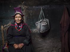 A widow in Ladakh, India, sits for a portrait in this National Geographic Photo of the Day.