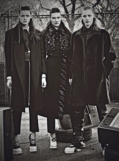Double Edge by Craig McDean / W magazine July 2012