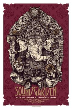 Soundgarden poster by Angry Blue