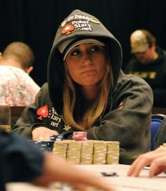 "Vanessa Rousso ""LadyMaverick"" - one of the best female poker players"