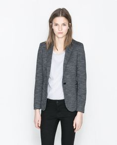 Image 2 of MARL BLAZER from Zara