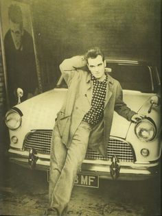 I would go out tonight but I haven't got a stitch to wear! This charming man! Morrissey The Smiths Moz
