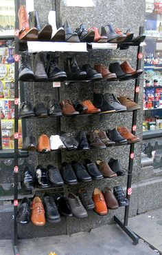 Assorted shoes on sale Oxford...