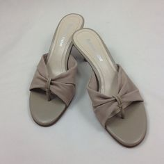 Etienne Aigner  taupe shoes Beautiful taupe shoes in mesh and leather. These NWOT heels can be dressed up or worn with jeans. Etienne Aigner Shoes