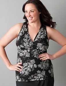 2a00fb81f7eb5 Surplice active tank top by Marika Miracles® Plus Size Workout
