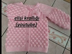 Crochet Shoes, Knit Vest, Knitted Blankets, Baby Knitting Patterns, Crochet Baby, Raspberry, Sweaters, Clothes, Youtube Youtube