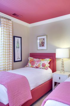 Tailored for Family Girls Room  Bedroom  Kids  Modern by MA Allen Interiors