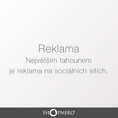 Podle výzkumu Trendy v českém marketingu 2015 je top reklama na sociálních sítích. Mimo ni také vede mobilní a obsahový marketing.  www.shopnero.cz #reklama #socialni_site