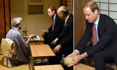 2/26/15.   William touched down at Tokyo's Haneda airport in the early hours - and was given a rapturous welcome of the sort usually given to pop stars. He is beginning a four-day visit to Japan and will visit Fukushima.