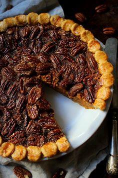 Wicked sweet kitchen: Kurpitsa-pekaanipähkinäpiirakka