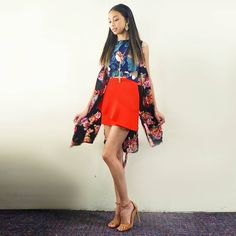 Filipino Girl, Filipina Actress, Lucky 7, Star Magic, Arab Fashion, Talent Show, Debut Album, Mini Skirts, Ootd
