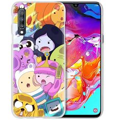 Anime Case For Samsung Galaxy A50 A70 A20e A40 A30 A20 A10 A51 A70s A9 A7 2018 Hard Clear PC Phone Coque Cover Adventure Time Half-Wrapped Cases  Samsung Cases, Phone Cases, Adventure Time, Galaxies, Wrapping, Anime, Finn The Human, Cartoon Movies, Anime Music