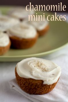 TASTY TRIX: Chamomile Mini Cakes with Honey Frosting for the Joy the Baker Cookbook