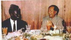 Ahmed Sékou Touré  e Mao, talvez na década de 1960.