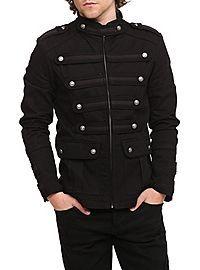 HOTTOPIC.COM - Tripp Black Guard Jacket