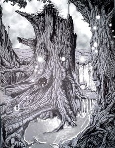 1000 images about dessins arbres anim s on pinterest search google and tree of life. Black Bedroom Furniture Sets. Home Design Ideas
