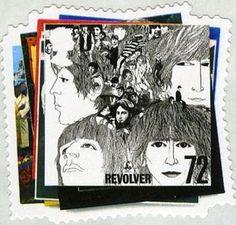 Sello: Revolver (Reino Unido de Gran Bretaña e Irlanda del Norte) (The Beatles Album Covers and Memorabilia) Mi:GB 2478,Sn:GB 2425,Yt:GB 2831,Sg:GB 2690,AFA:GB 2687,Un:GB 2905
