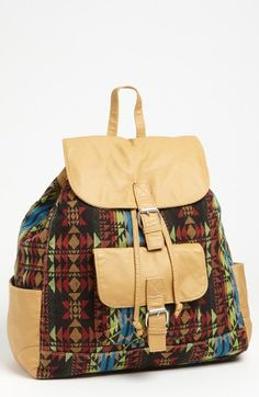 T-shirt & Jeans Print Backpack available at #Nordstrom