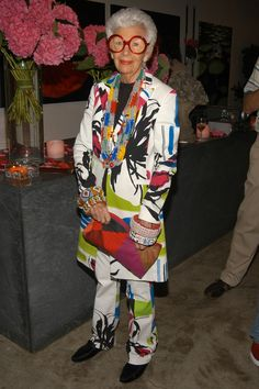 Iris Apfel Turns 96: A Look Back At the Fashion Icon's Most Delightfully Eccentric Looks Photos | W Magazine