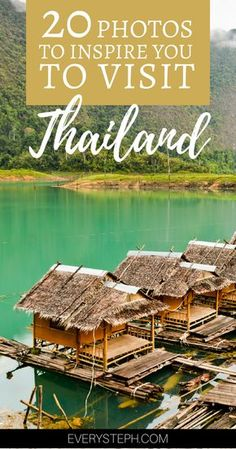 20+ Photos To Inspire You To Visit Thailand - From mountains to beaches, from temples to islands, Thailand has it all! | Thailand Travel Tips| Thailand Photography | Phuket, Phi Phi, Chiang Mai, and many other Thailand travel destinations... | Every Steph