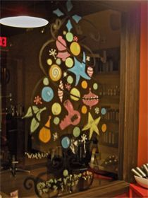 """I got this idea from Andy Warhol's """"Christmas Tree"""" it was for a hair salon lobby - so-I call it """"WarHair"""" ;D"""