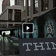 Communication Arts - 2013 Interactive Annual - IBM THINK Exhibit