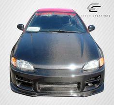 1992-1995 Honda Civic 2DR / HB Carbon Creations OEM Hood - 1 Piece
