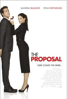 The Proposal (2009) Sandra Bullock -A very funny movie.  Love Ryan Reynolds and Sandra Bullock together!