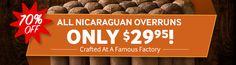 Cigar Deal: Today Only, Get A Bundle Of Nicaraguan Overruns