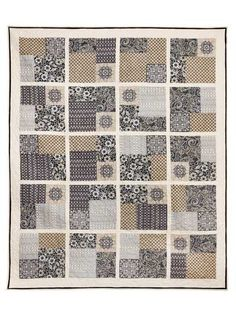 Twist & Turn Four-Patch Quilt Kit
