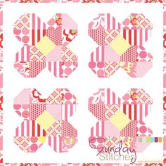 Your little girl will giggle with joy when she sees that you made her a Silly Shabby Butterflies Quilt. Beginner quilters looking to start working with applique quilt patterns can count on this to be one of the best free bed quilt patterns to use. Yo