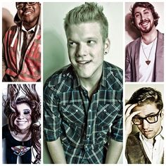 Oh Pentatonix, how gorgeous is thee? And thine voice is sweet as nectar, yet deep as the deepest depths of my soul. Kinds Of Music, Music Is Life, Scott And Mitch, Scott Hoying, Mitch Grassi, Nerd, Pentatonix, Music Tv, Cool Bands