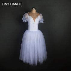 Find More Ballet Information about Child and Adult Swan White Romantic Style Long Tutu Ballet Dance Costume Ballerina Dress 17307,High Quality ballerina dress,China ballerina style dress Suppliers, Cheap swan white from TINY DANCE Official Store on Aliexpress.com